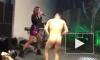 Видео: В Баку Бузова спела с голым фанатом на одной сцене