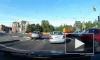 Видео: начинающий водитель сбил велосипедиста на Выборгском шоссе