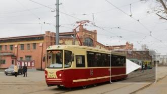 Трамвай переехал мужчину на Петергофском шоссе, тот остался жив