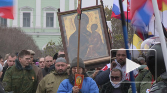 В Петербурге маршировали за Новороссию