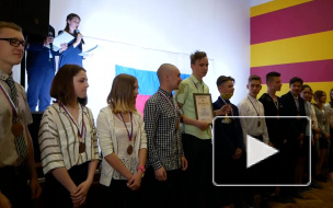 В Выборгском районе наградили самых спортивных школьников