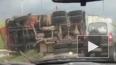 Появилось видео страшных последствий аварии с двумя ...