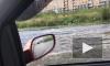 В Славянке развешивают на заборах уплывшие автомобильные номера