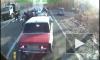 Видеорегистратор зафиксировал, как автомобиль под Пензой сбил 7 человек