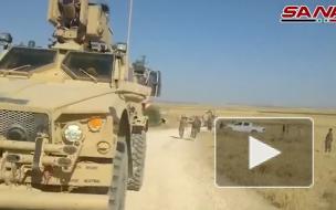 Американскую базу в Сирии обстреляли ракетами