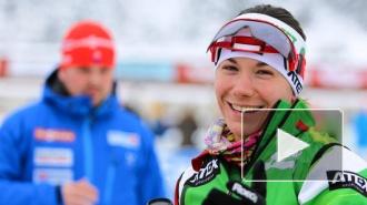 Петербурженка завоевала серебро в пасьюте на Кубке мира по биатлону
