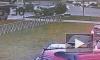 Видео: на проспекте Королева во время ДТП Nissan перевернулся на крышу