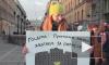 Репортаж: как петербуржцы митинговали против депутата Слуцкого