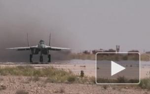 """В США рассказали об """"избитых"""" МиГ-29 в Сирии"""