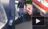"""Видео: на Петергофском шоссе неадекват подрезал экскаватор, чтобы """"попугать"""""""