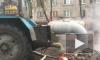 Видео: на улице Шелгунова ремонтируют теплосеть для 161 дома