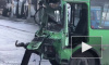 Жуткое видео из Воронежа: трассу не поделили маршрутка и фура