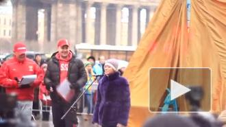 """В Петербурге собрали подписи против """"олимпийских"""" часов"""