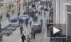 Опубликовано видео момента ДТП с наездом на пешехода на 1-й Советской