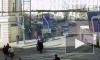 Момент аварии с маршруткой и пенсионером в Адмиралтейском районе попал на видео