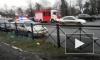 ГИБДД: за рулём Audi, которая зацепила 12 машин на Выборгском шоссе, находился мужчина