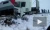 Поезд из Петербурга снес фуру по пути в Чебоксары