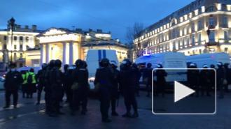 Беглов объяснил массовые задержания на акции 21 апреля