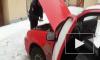 В Петербурге ДПС с погоней задержали угонщика, нарушившего ПДД на краденой машине
