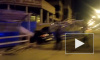 Автомобиль протаранил дом на углу улиц Николая Рубцова и Федора Абрамова