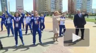 Матвиенко станцевала под хит Бузовой в компании с главой Мордовии