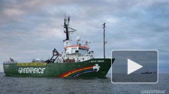 Активисты «Гринпис» в порту Роттердама попытались взять на абордаж российский танкер