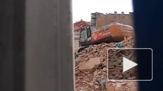 В Петербурге вновь сносят историческое здание, охраняемое