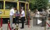 В Выборге состоялось официальное открытие памятника трамваю