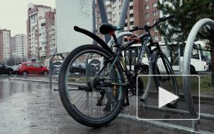 Велосообщество недовольно новыми парковками в Приморском районе